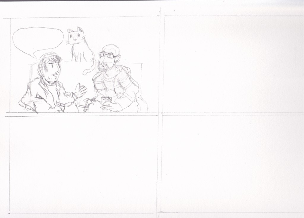 Boceto 02 comic